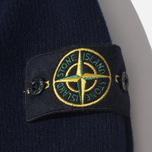Мужской свитер Stone Island High Collar Navy фото- 3