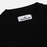 Мужской свитер Stone Island Lambswool Crew Neck Black фото- 1
