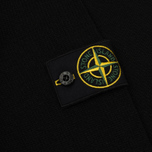 Мужской свитер Stone Island Lambswool Crew Neck Black фото- 3