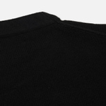 Мужской свитер Stone Island Lambswool Crew Neck Black фото- 4