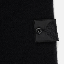 Мужской свитер Stone Island Shadow Project Bicolor Stretch Wool And Alpaca Blend Charcoal фото- 2