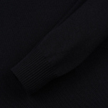 Мужской свитер Stone Island Shadow Project Catch Pocket Crew Neck Virgin Wool/Silk Blend Black фото- 3
