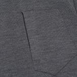 Мужской свитер Stone Island Shadow Project Catch Pocket Crew Neck Virgin Wool/Silk Blend Dark Grey фото- 2