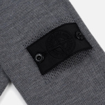 Мужской свитер Stone Island Shadow Project Catch Pocket Crew Neck Virgin Wool/Silk Blend Dark Grey фото- 4