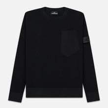 Мужской свитер Stone Island Shadow Project Chest Patch Pocket Black фото- 0