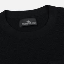 Мужской свитер Stone Island Shadow Project Chest Patch Pocket Black фото- 1