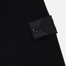 Мужской свитер Stone Island Shadow Project Chest Patch Pocket Black фото- 3