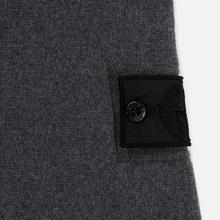 Мужской свитер Stone Island Shadow Project Contrast Hoodie Charcoal фото- 2