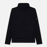 Мужской свитер Stone Island Shadow Project Engineered Mock Neck Strata Pockets Black фото- 0