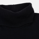Мужской свитер Stone Island Shadow Project Engineered Mock Neck Strata Pockets Black фото- 1