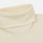 Мужской свитер Stone Island Shadow Project Engineered Mock Neck Strata Pockets Natural White фото- 1