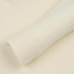 Мужской свитер Stone Island Shadow Project Engineered Mock Neck Strata Pockets Natural White фото- 3