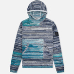 Мужской свитер Stone Island Shadow Project Knit Hoody Navy/Blue фото- 0