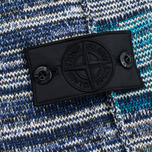 Мужской свитер Stone Island Shadow Project Knit Hoody Navy/Blue фото- 3