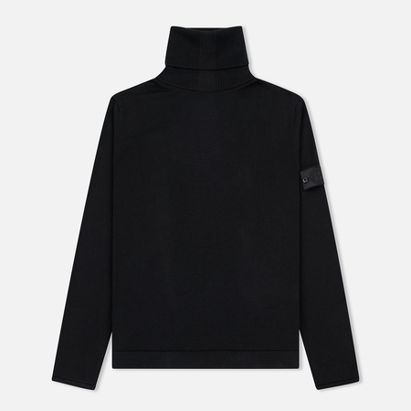 Мужской свитер Stone Island Shadow Project Knit Cotton Black