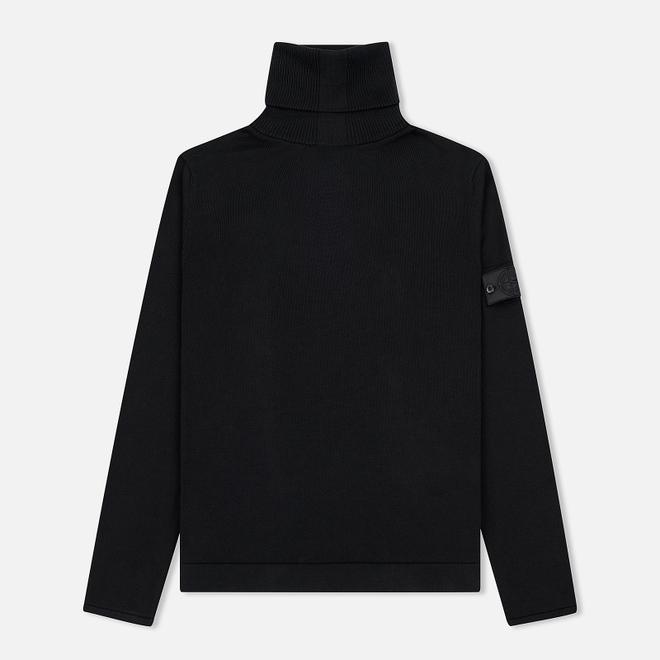 Мужской свитер Stone Island Shadow Project Knit Cotton Black