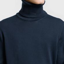 Мужской свитер Stone Island Shadow Project Knit Cotton Navy фото- 2