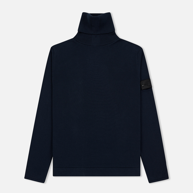 Мужской свитер Stone Island Shadow Project Knit Cotton Navy