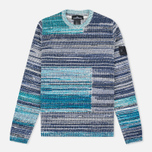 Мужской свитер Stone Island Shadow Project Knit Crew Neck Navy/Blue фото- 0