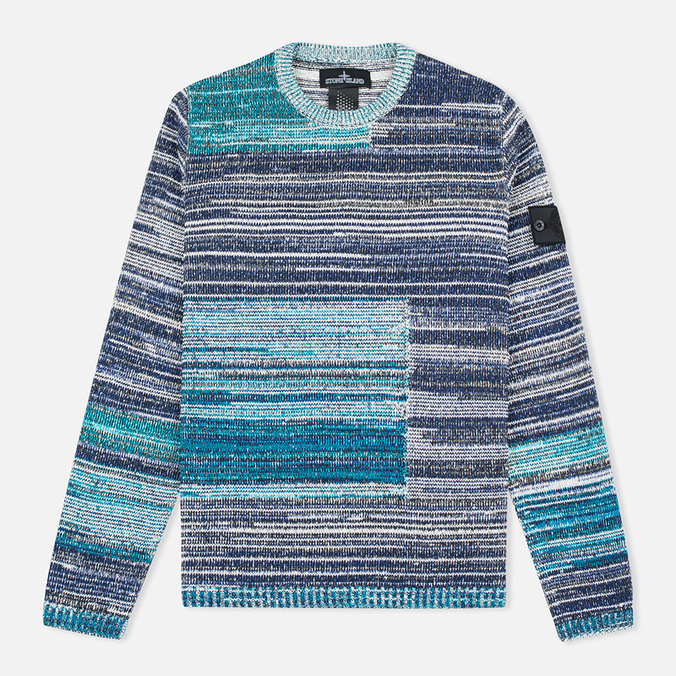 Мужской свитер Stone Island Shadow Project Knit Crew Neck Navy/Blue