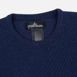 Мужской свитер Stone Island Shadow Project Knit Jumper Navy/Blue фото- 1