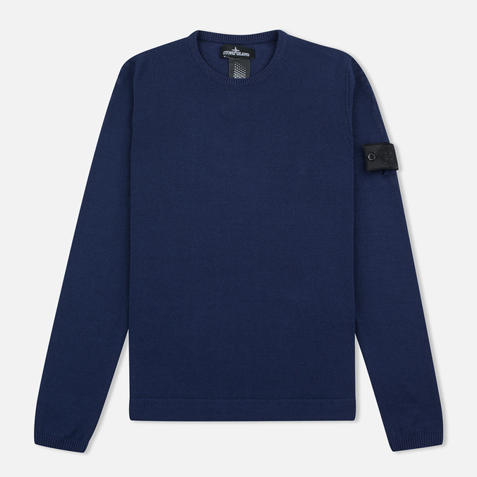 Мужской свитер Stone Island Shadow Project Knit Jumper Navy/Blue