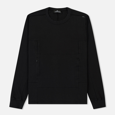 Мужской свитер Stone Island Shadow Project Lacuna Chamber Pocket Black