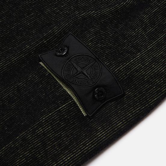 Мужской свитер Stone Island Shadow Project Two Colour Crew Neck Knit Black