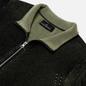 Мужской свитер Stone Island Shadow Project Two Colour Full Zipper Cardigan Black фото - 1