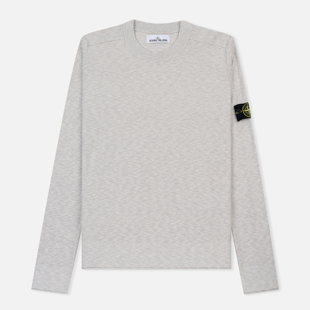 Мужской свитер Stone Island Slub Light Crew Neck Ice