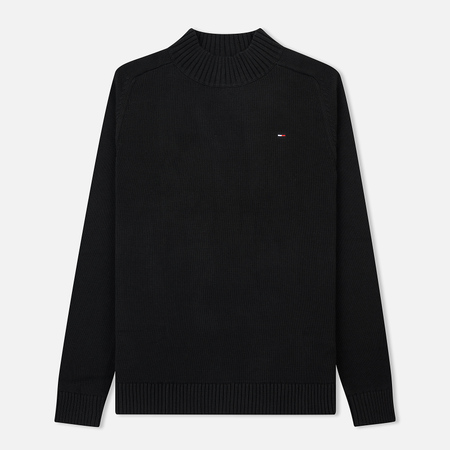 Мужской свитер Tommy Jeans Essential Mock Neck Black