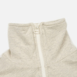 Мужской свитер Universal Works 1/4 Zip Sweat Felpa Diagonal Sand Marl фото- 2
