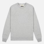 Мужской свитер Universal Works Crew Soft Wool Grey фото- 0