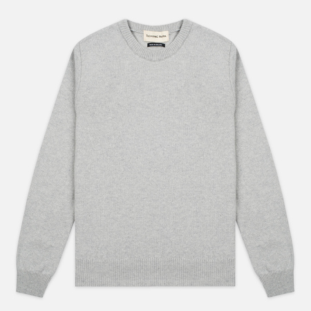 Мужской свитер Universal Works Crew Soft Wool Grey
