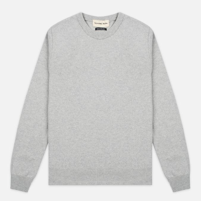 Мужской свитер Universal Works Crew Soft Wool Grey