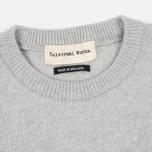 Мужской свитер Universal Works Crew Soft Wool Grey фото- 1