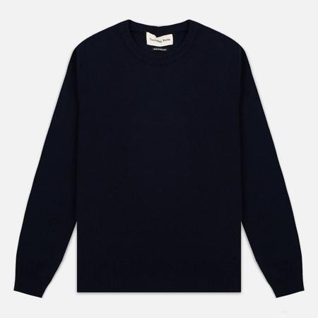 Мужской свитер Universal Works Crew Soft Wool Navy