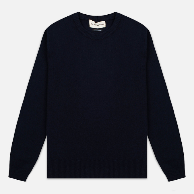 Мужской свитер Universal Works Crew Soft Wool Navy