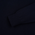 Мужской свитер Universal Works Crew Soft Wool Navy фото- 2