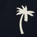 Мужской свитер Universal Works Embroidered Raglan Crew Loopback Navy фото- 2