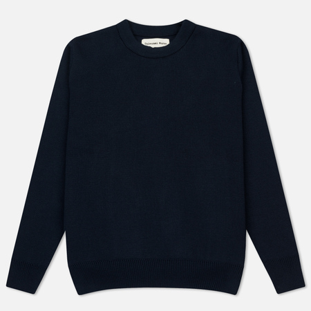 Мужской свитер Universal Works Loose Fisherman Merino 1/2 Milano Navy