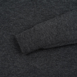 Мужской свитер Velour Cyrlie Zip Lambswool Grey фото- 2