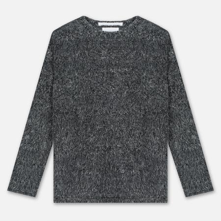 Мужской свитер White Mountaineering Shaggy Big Silhouette Charcoal