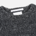 Мужской свитер White Mountaineering Shaggy Big Silhouette Charcoal фото- 1