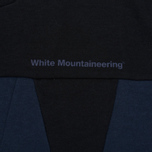 Мужская толстовка White Mountaineering W Contrasted Navy фото- 2