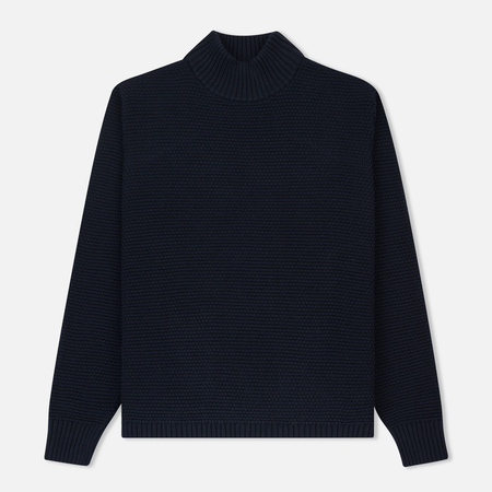 Мужской свитер Wood Wood Jose Turtle Neck Navy