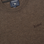 Woolrich Supergeelong Men's Sweater Charcoal photo- 2
