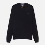 Мужской свитер Woolrich Supergeelong V-Neck Navy фото- 0