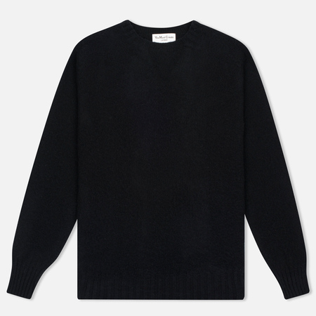 Мужской свитер YMC Brushed Crew Knit Black
