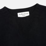 Мужской свитер YMC Brushed Crew Knit Black фото- 1